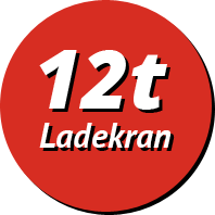 12t Ladekran