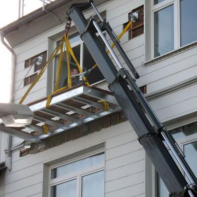 Montage Balkon